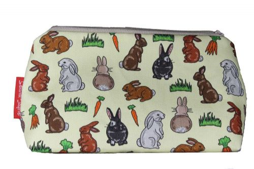 Selina-Jayne Rabbits Limited Edition Designer Cosmetic Bag